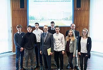 Besuch bei der Bundesbank